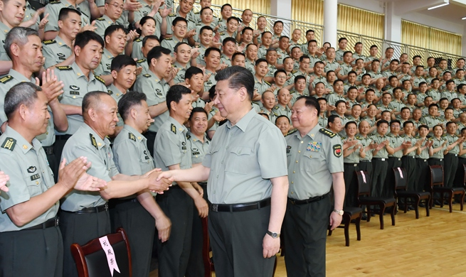 Xi stresses military personnel education for strong armed forces