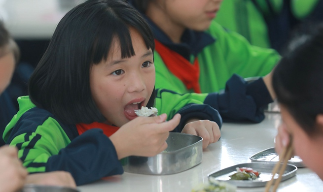 Big-data based monitoring system helps guarantee food safety for students in Tongren