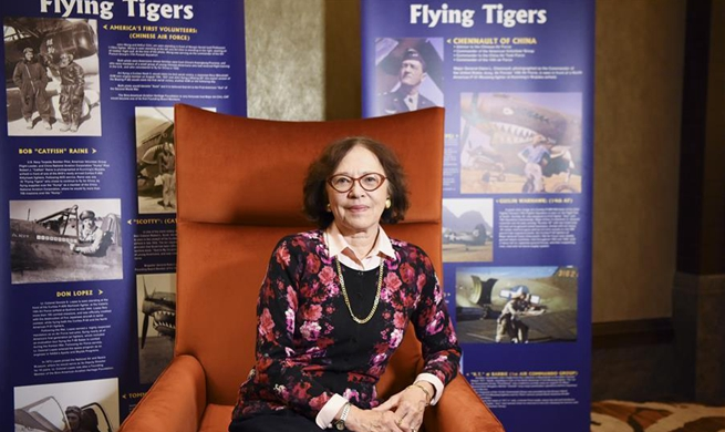 "Feature: As ""Flying Tigers"" families share golden memories, a relay of China-U.S. friendship"
