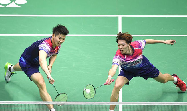 China beats Japan 3-0 to win record 11th Sudirman Cup