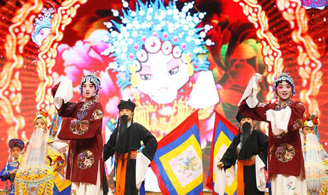 Tongji Experimental School in Qingdao integrates Peking Opera into course