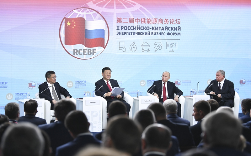 China, Russia vow to further energy cooperation