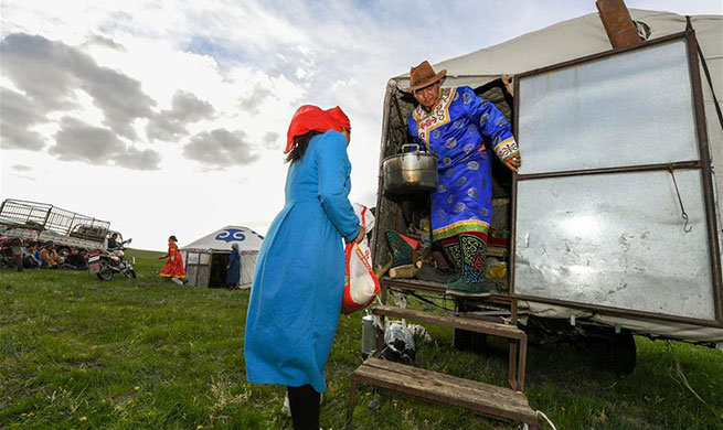 In pics: nomadic migration on Ar Horqin grassland in China's Inner Mongolia