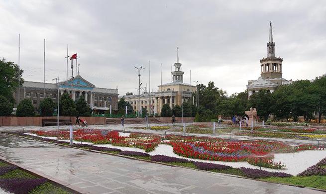 In pics: Bishkek, capital of Kyrgyzstan