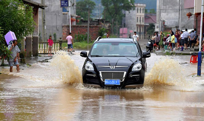 2 mln people affected as floods hit eastern China province