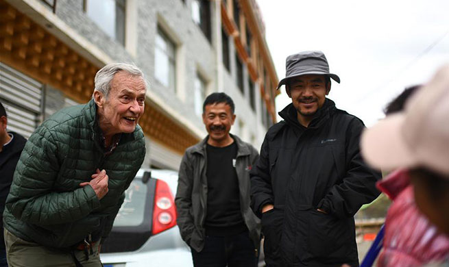 Xinhua Headlines: George Schaller, exploring the beauty of nature on the Qinghai-Tibet Plateau