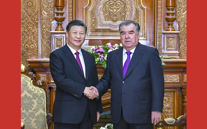 China, Tajikistan agree to deepen ties for common prosperity