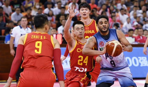 China beat Australia's NBL United 89-77 in International Basketball Challenge