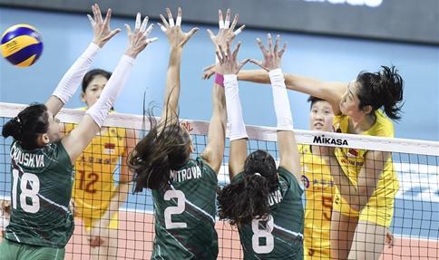 FIVB Volleyball Nations League 2019: China vs. Bulgaria