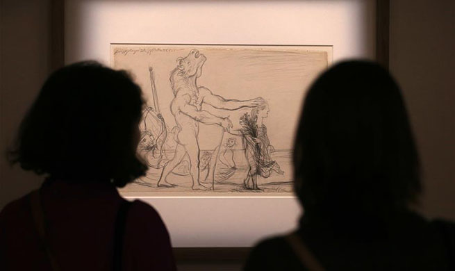 """Exhibition at Cycladic museum to explore Picasso's """"dialogue"""" with ancient Greek art"""