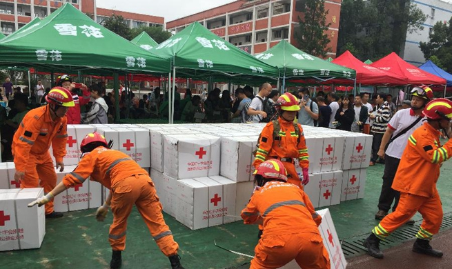 Death toll up to 13 in SW China earthquake: ministry