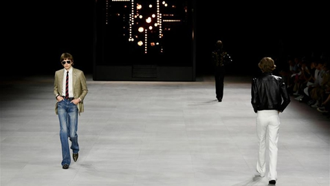 Celine's Spring/Summer 2020 collections during Men's Fashion Week in Paris