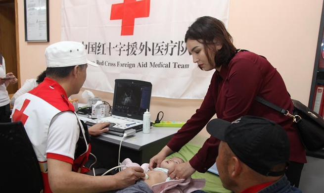 Chinese medical team to help treat another 100 Mongolian children with heart disease