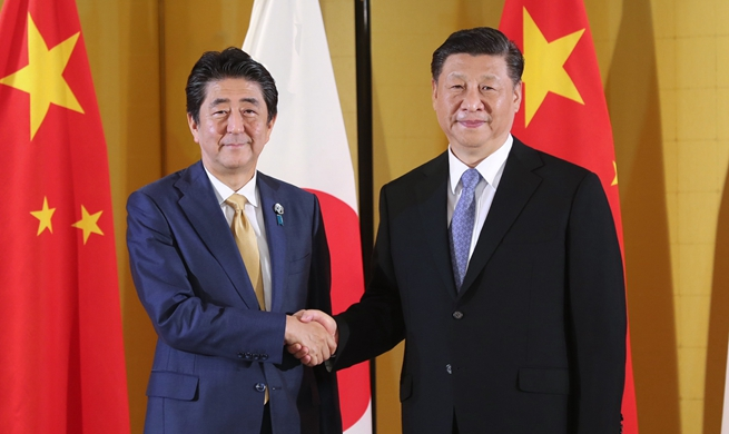 Xi, Abe reach 10-point consensus to promote bilateral relations