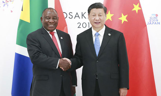 Xi pledges to deepen practical cooperation between China, South Africa