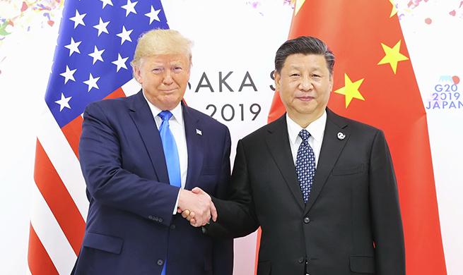 Xi, Trump meet in Japan to guide ties