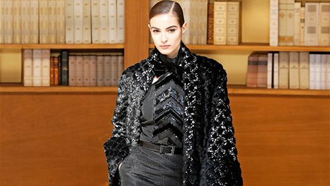 Chanel's Fall/Winter 2019/20 Haute Couture collections presented in Paris
