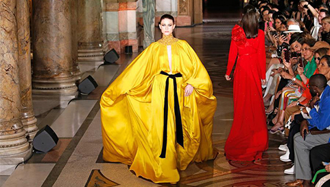 In pics: Stephane Rolland's Fall/Winter 2019/20 Haute Couture collections