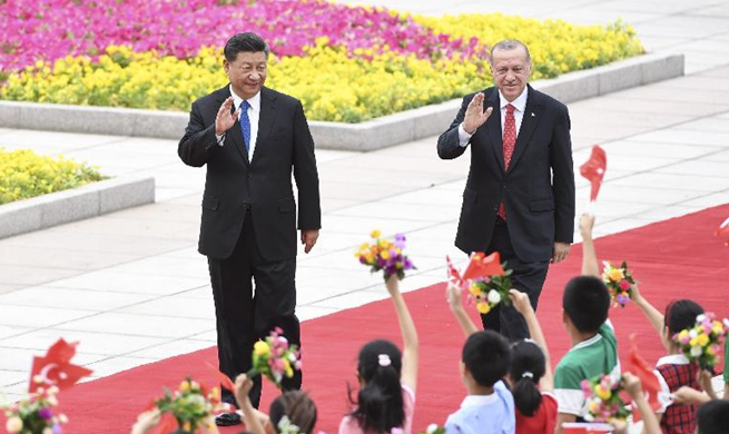 Xi, Turkish president hold talks, agreeing to deepen strategic cooperation
