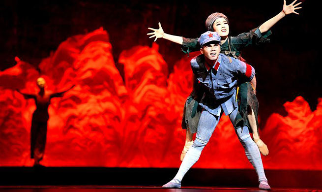 "Ballet drama called ""Sparkling Red Star"" staged in Shijiazhuang"