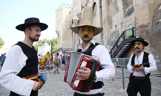 73rd Festival d'Avignon held in France