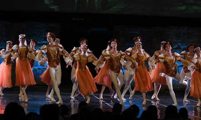 "Ballet show ""Swan Lake"" performed during 55th Int'l Carthage Festival in Tunisia"