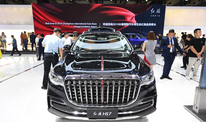 China iconic brand Hongqi's luxury SUV hits the market