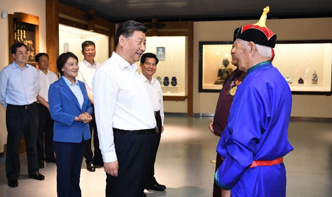 Xi goes to Inner Mongolia on inspection tour