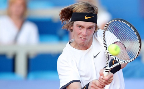Rublev beats Haase 2-0 during 1st round at 2019 ATP Croatia Open