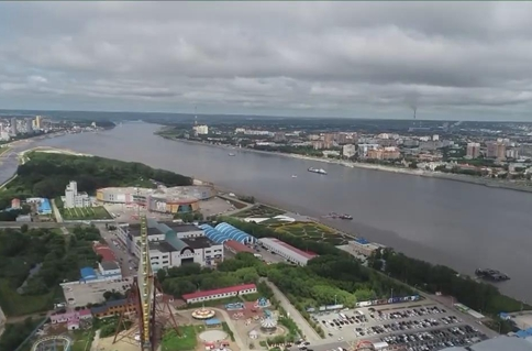 First China-Russia border cableway under construction