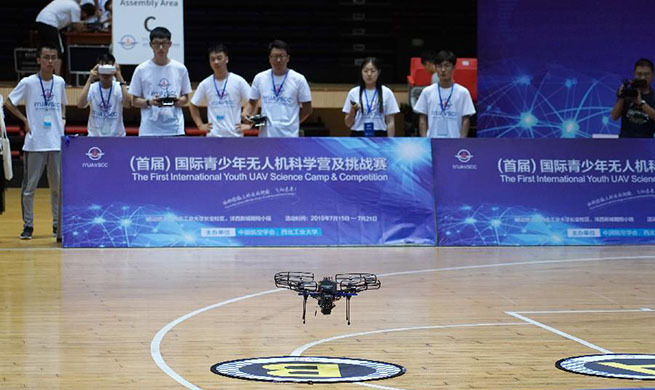 Highlights of 1st Int'l Youth UAV Science Camp & Competition in China's Shaanxi