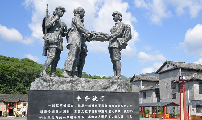 Xinhua Headlines: Cherishing the memory of the challenging Long March