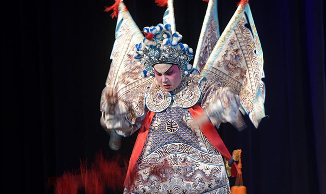 Cantonese opera staged at Kreta Ayer People's Theater in Singapore