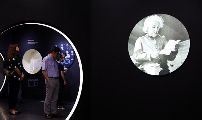 Exhibition of Albert Einstein opens to public in Shanghai