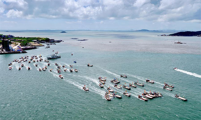 Fuqing Fishing Festival kicks off in southeast China's Fujian