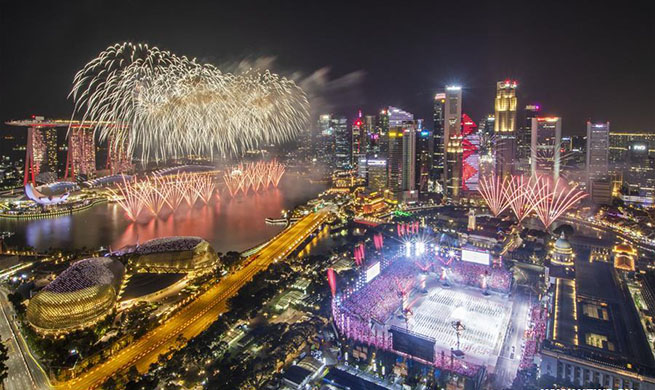 National Day Parade rehearsal held in Singapore