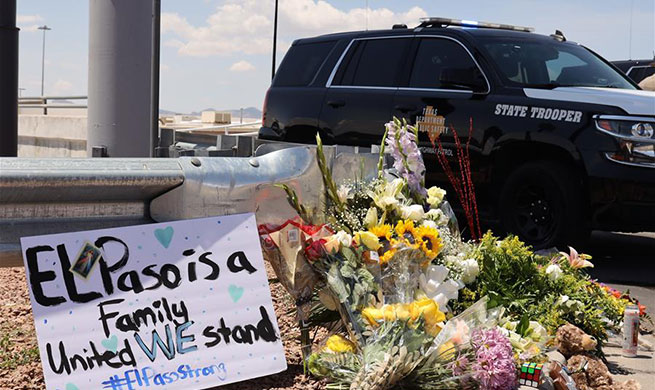 People mourn for mass shooting victims in Texas, Ohio