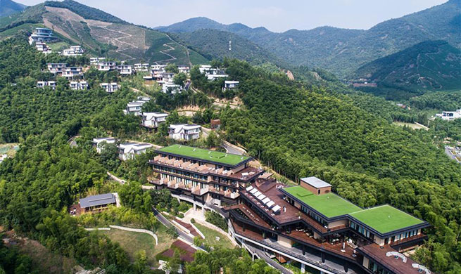 Ecological tourism helps promote township's revenue in China's Zhejiang