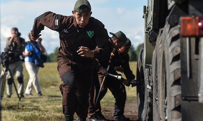 Highlights of International Army Games 2019