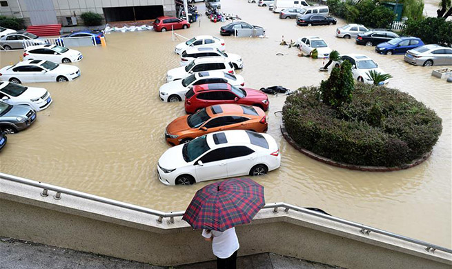 China issues orange alert as Typhoon Lekima lands