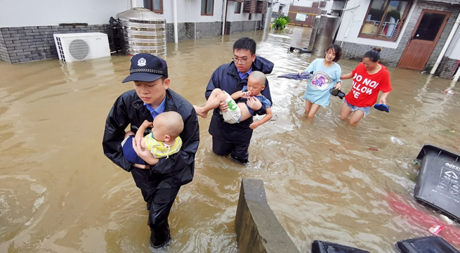 28 dead after Typhoon Lekima lands in east China