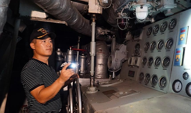 Pic story of last Chief Engineer on DDG-163 Nanchang in China's Jiangxi