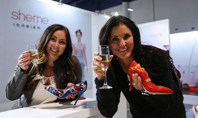 In pics: China Footwear Pavilion at Las Vegas MAGIC Show