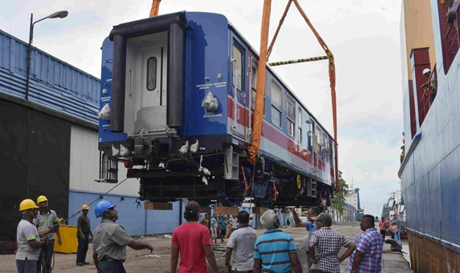 Sri Lanka imports train from China for upcountry line