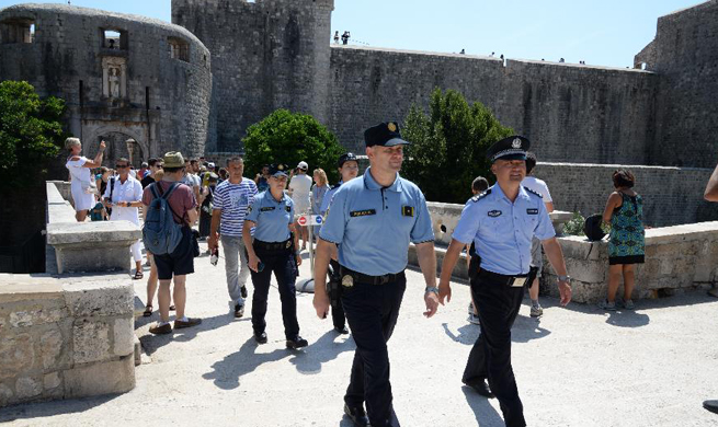 2nd joint patrol between Croatian, Chinese police concludes with success