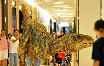 """""""Walking with Dinosaurs"""" event held in Bangkok, Thailand"""