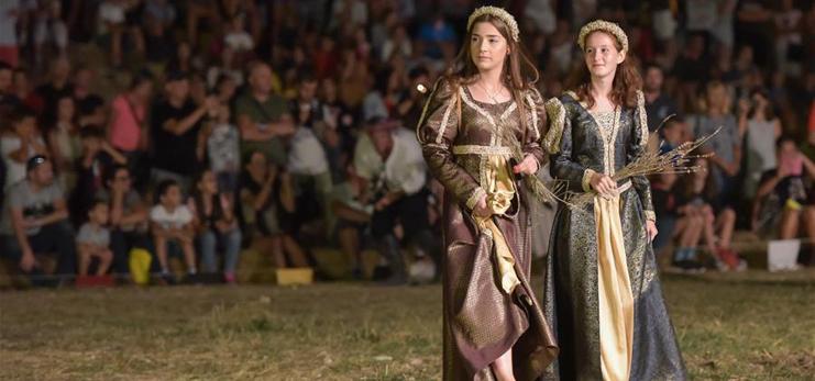 Knights Festival held in Vrana, Croatia