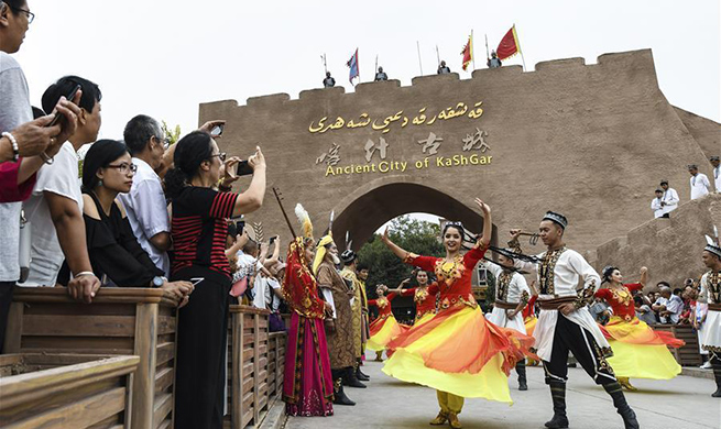 Kashgar in China's Xinjiang receives 4.5 mln tourists from January to July this year