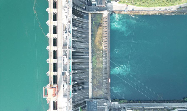 In pics: Xin'anjiang River Hydropower Station in Jiande City, China's Zhejiang