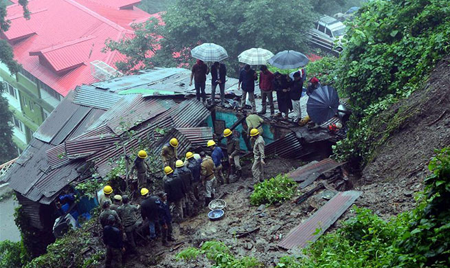 Over 40 killed in rain-related incidents in India's 3 states in last 24 hours